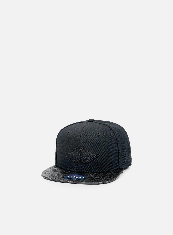 Jordan - Jordan 2 Snapback, Black/Black
