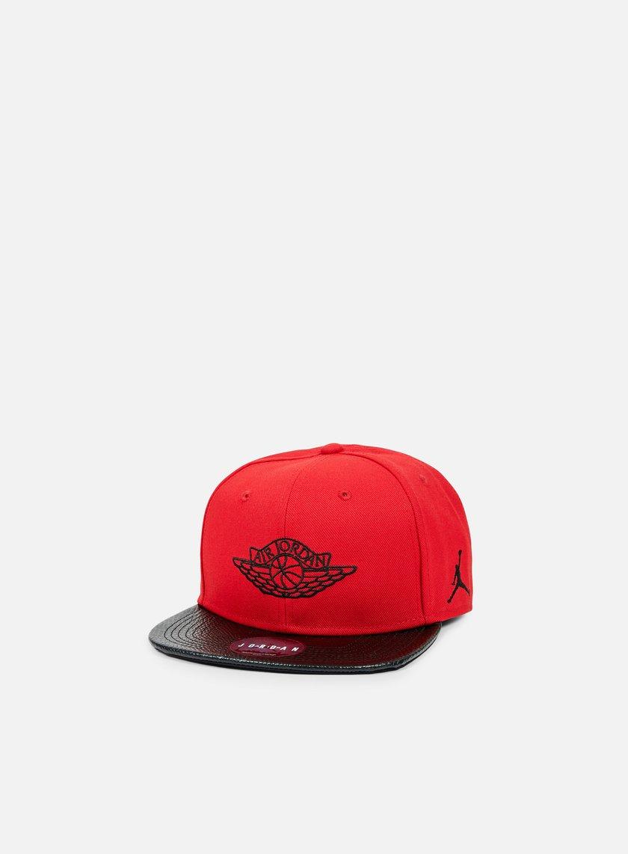 Jordan - Jordan 2 Snapback, Gym Red/Black