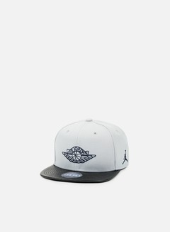 Jordan - Jordan 2 Snapback, Wolf Grey/Midnight Navy