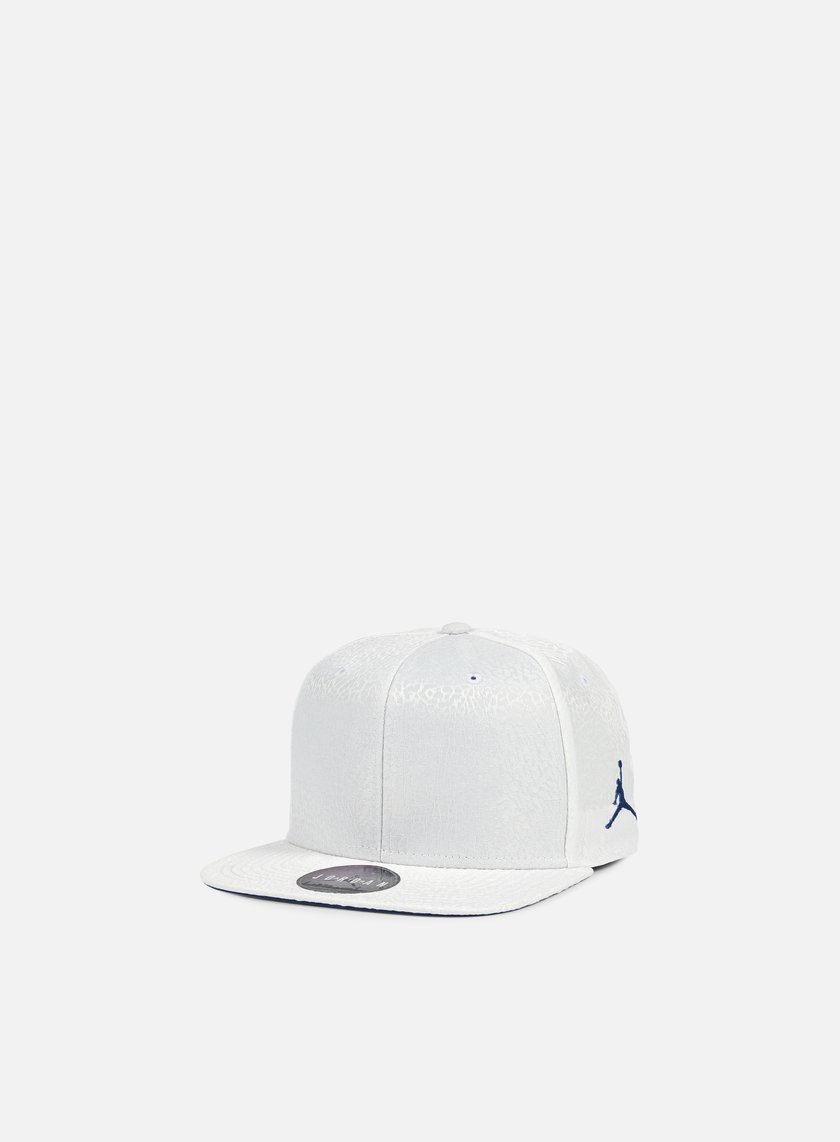 Jordan - Jordan 3 Retro Snapback, White/True Blue