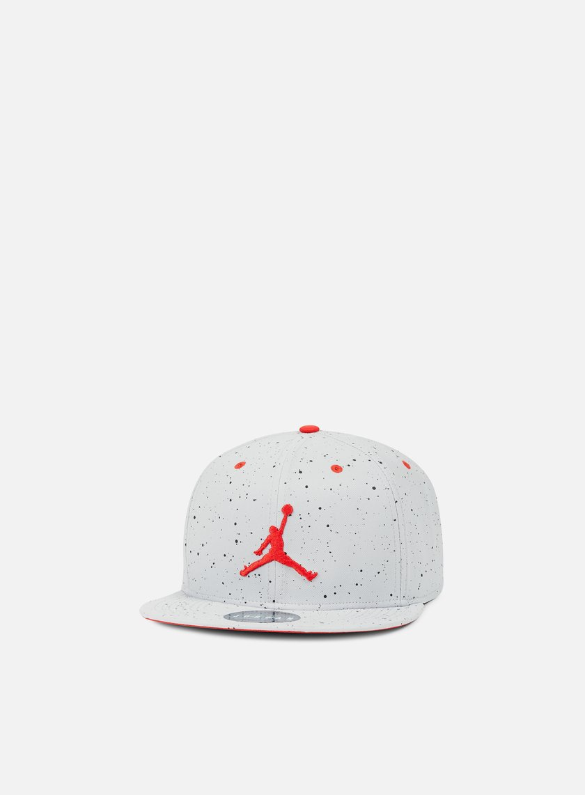 Jordan - Jordan 4 Snapback, Wolf Grey/Fire Red