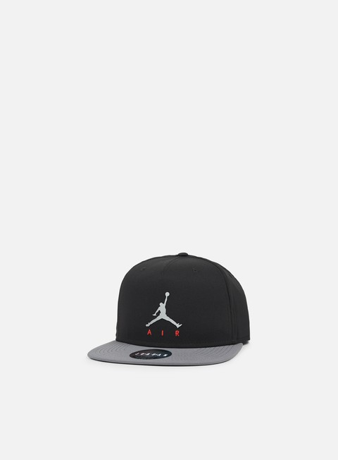 cappellini jordan jumpman air pro snapback black dark grey
