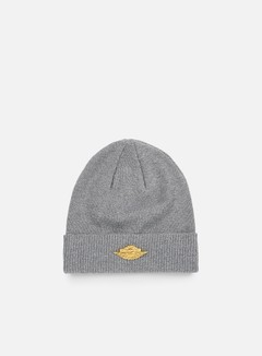 Jordan - Jumpman Cuff Beanie, Dark Grey Heather/Metallic Gold