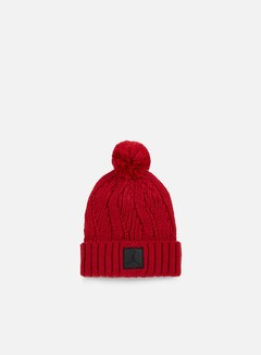 Jordan - Jumpman Pom Beanie, Gym Red/Black