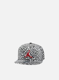 Jordan - Jumpman Seasonal Snapback, Wolf Grey/Gym Red