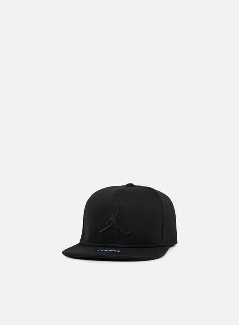 cappellini jordan jumpman snapback black black