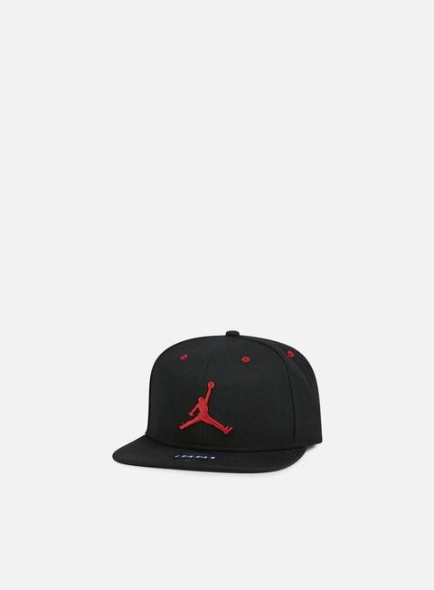 cappellini jordan jumpman snapback black gym red