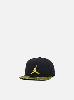 Jordan - Jumpman Snapback, Black/Optic Yellow