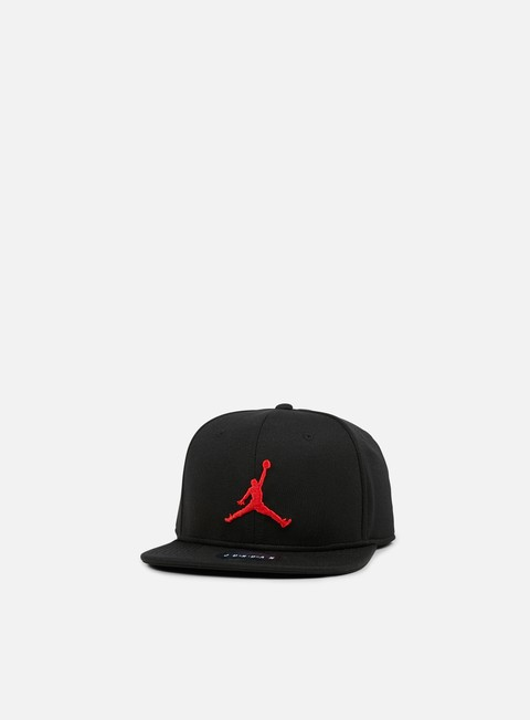 cappellini jordan jumpman snapback black university red