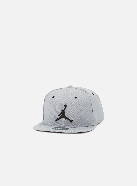 Jordan - Jumpman Snapback, Cool Grey/Black
