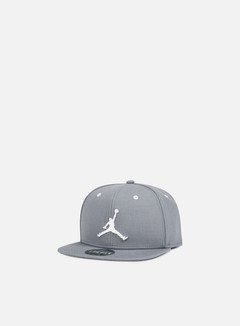 Jordan - Jumpman Snapback, Cool Grey/White 1