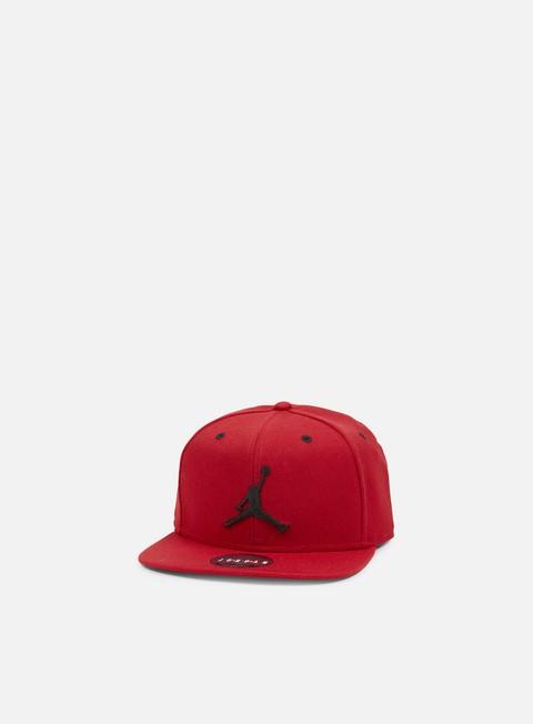 cappellini jordan jumpman snapback gym red black