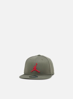 Jordan - Jumpman Snapback, River Rock/University Red