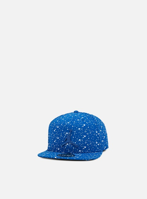cappellini jordan speckle print snapback team royal white