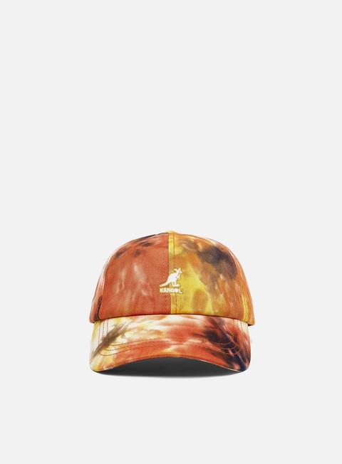 Curved Brim Caps Kangol Tie Dye Baseball Strapback