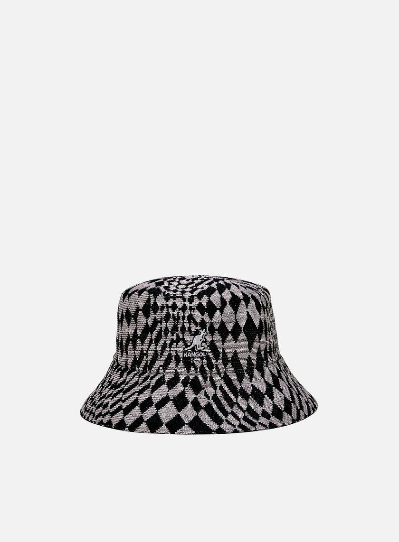 Kangol Warped Check Bucket