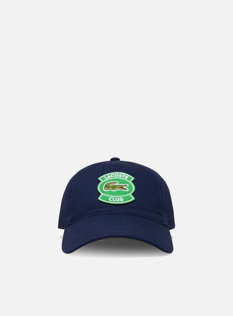 Curved Brim Caps Lacoste Club Cap