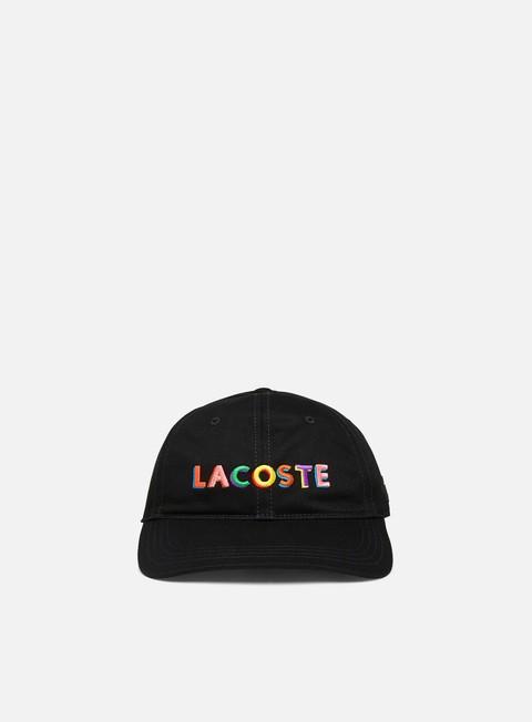 Brim caps Lacoste Live Embroidered Lettering Cap