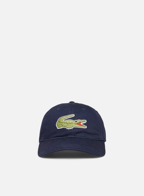 Lacoste Oversized Crocodile Cotton Cap