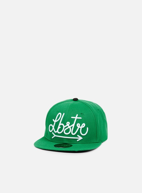 cappellini lobster arrow snapback green