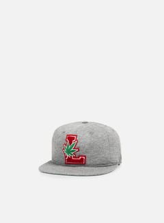 LRG - Lifted Degenerates Strapback, Ash  Heather 1