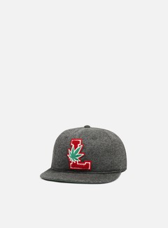 LRG - Lifted Degenerates Strapback, Black Heather
