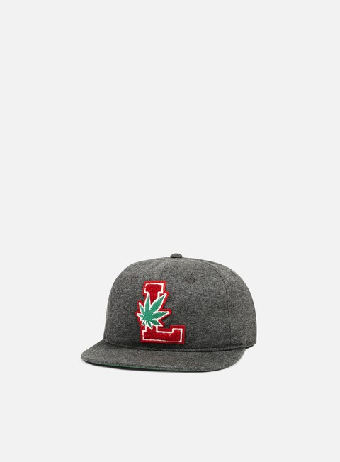 cappellini lrg lifted degenerates strapback black heather
