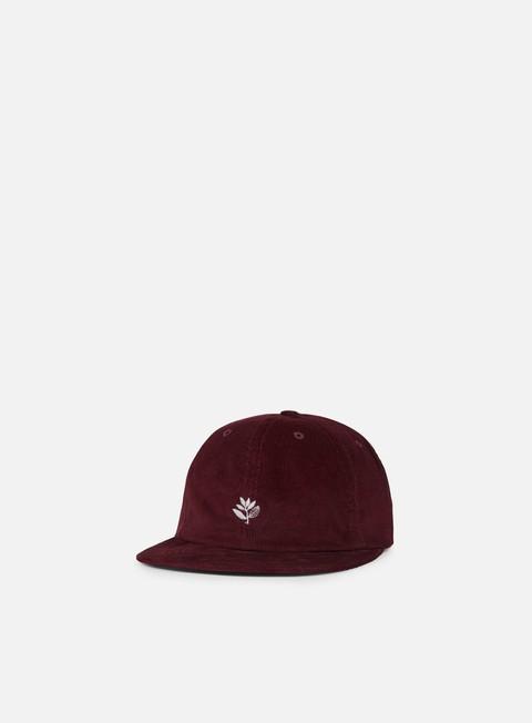 cappellini magenta 6p corduroy hat burgundy