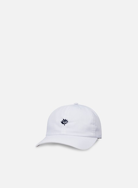 cappellini magenta dad hat white