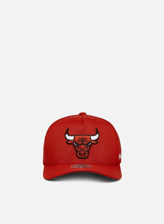 Mitchell & Ness Dropback Solid Redline Snapback Chicago Bulls