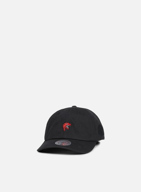 Curved Brim Caps Mitchell & Ness Elements Dad Snapback Toronto Raptors