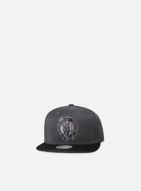 cappellini mitchell e ness hologram mesh stop on a dime snapback boston celtics charcoal