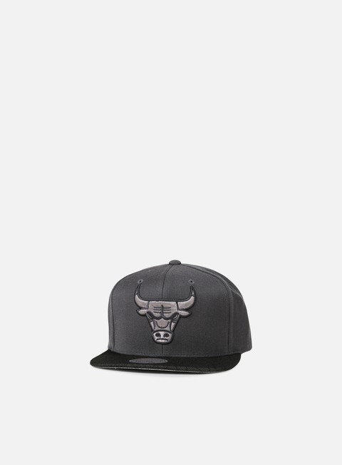 cappellini mitchell e ness hologram mesh stop on a dime snapback chicago bulls charcoal