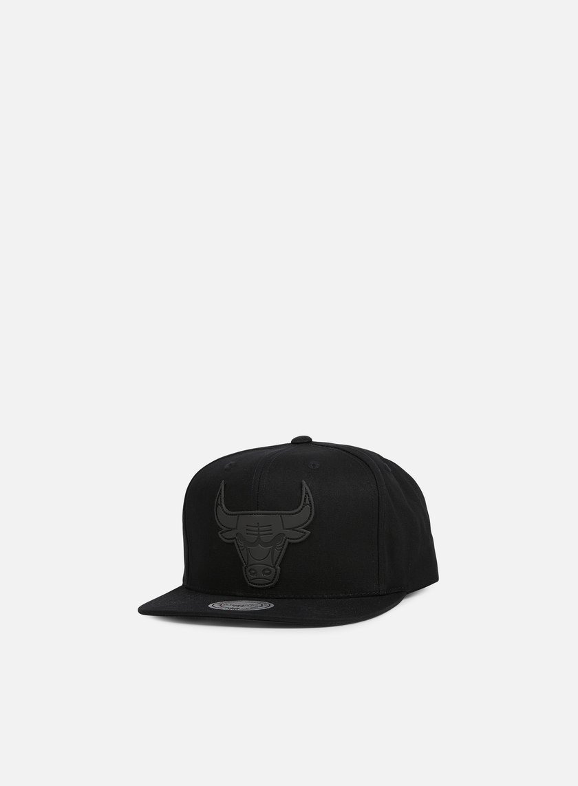 Mitchell & Ness - Hot Stamp Snapback Chicago Bulls, Black