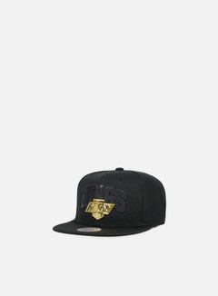 Mitchell & Ness - Lux Arch Snapback LA Kings, Black 1