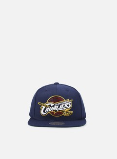 Mitchell & Ness - Solid Team Snapback Cleveland Cavaliers, Navy 1