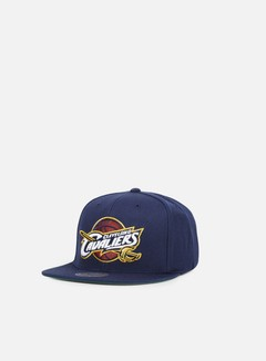 Mitchell & Ness - Solid Team Snapback Cleveland Cavaliers, Navy 2