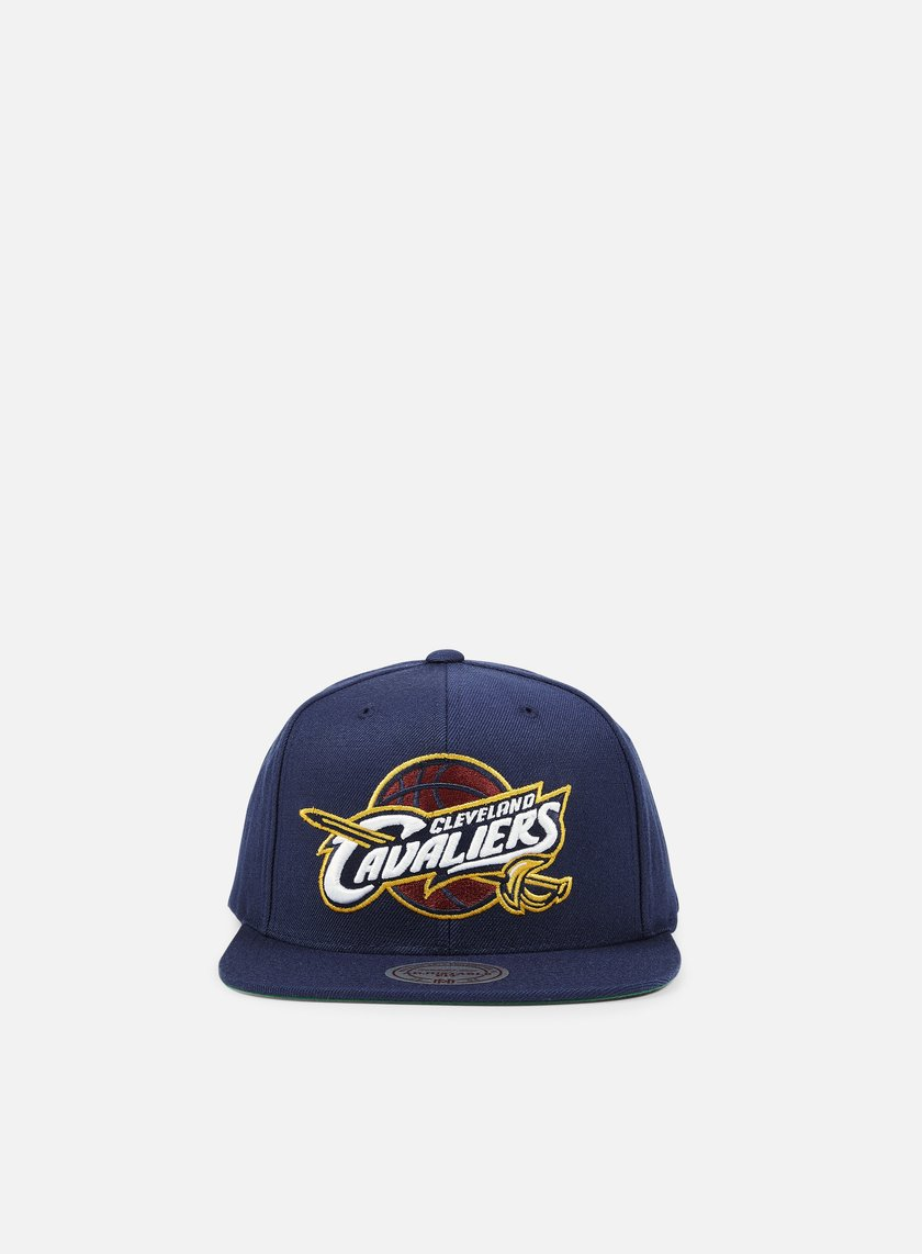 Mitchell & Ness - Solid Team Snapback Cleveland Cavaliers, Navy