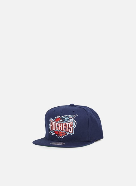 Outlet e Saldi Cappellini Snapback Mitchell & Ness Solid Team Snapback Houston Rockets
