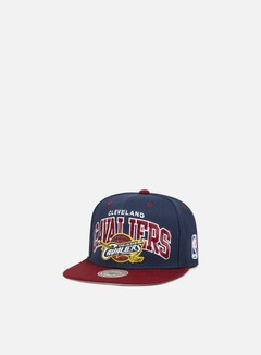 Mitchell & Ness - Team Arch Snapback Cleveland Cavaliers, Team Colors 1