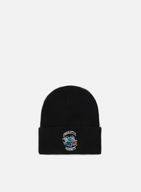 Sale Outlet Beanies Mitchell & Ness Team Logo Cuff Knit Beanie Charlotte Hornets