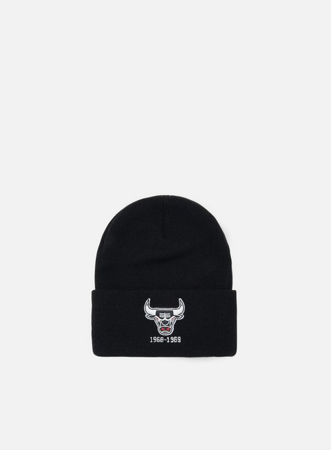 Cuffie Mitchell & Ness Team Logo Cuff Knit Beanie Chicago Bulls