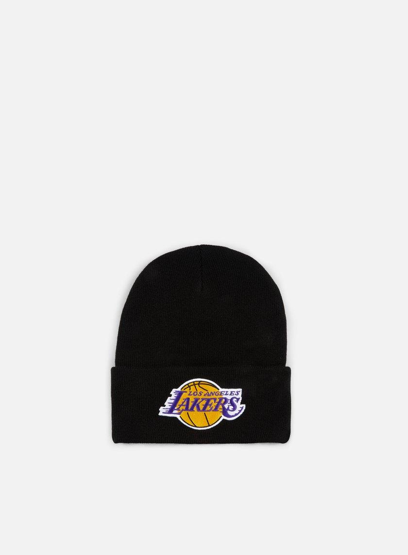 Mitchell & Ness Team Logo Cuff Knit Beanie LA Lakers