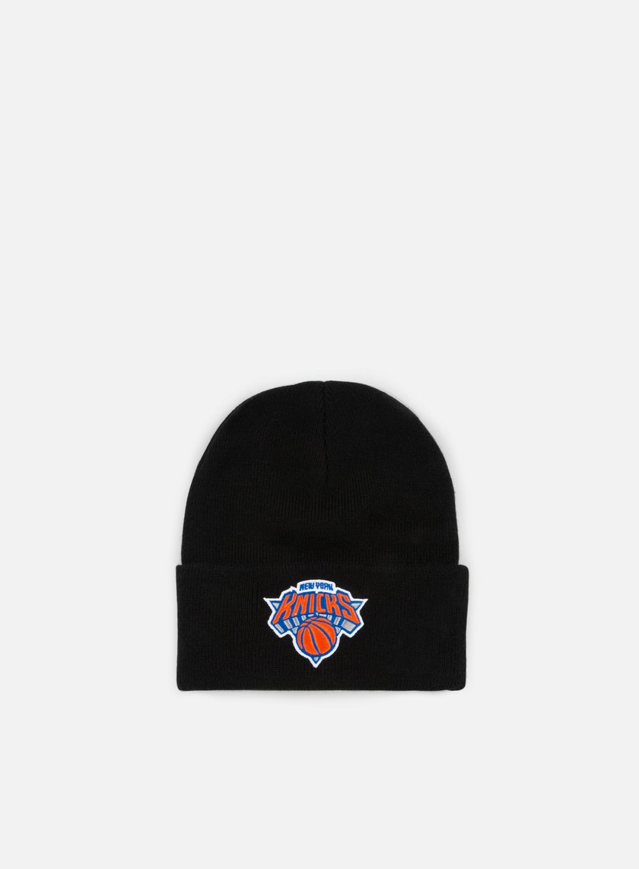 Mitchell & Ness Team Logo Cuff Knit Beanie NY Knicks