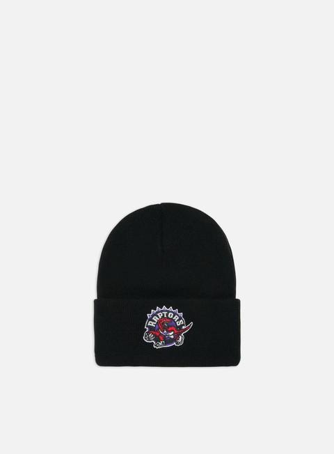 Cuffie Mitchell & Ness Team Logo Cuff Knit Beanie Toronto Raptors