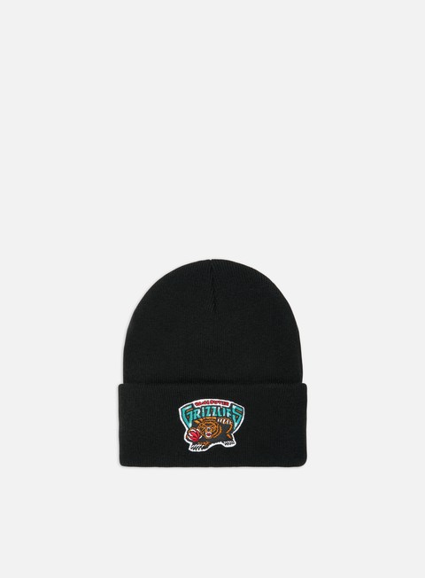 Beanies Mitchell & Ness Team Logo Cuff Knit Beanie Vancouver Grizzlies
