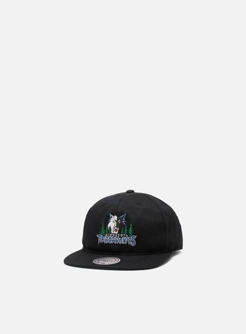 Cappellini Snapback Mitchell & Ness Team Logo Deadstock Throwback Snapback Minnesota Timberwolves