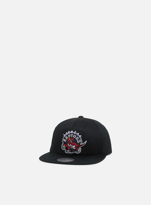 Outlet e Saldi Cappellini Snapback Mitchell & Ness Team Logo Deadstock Throwback Snapback Toronto Raptor