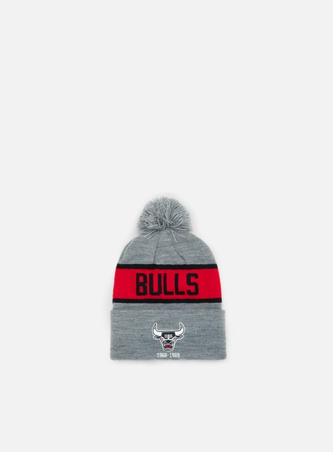 Outlet e Saldi Cuffie Mitchell & Ness Team Tone Knit Beanie Chicago Bulls