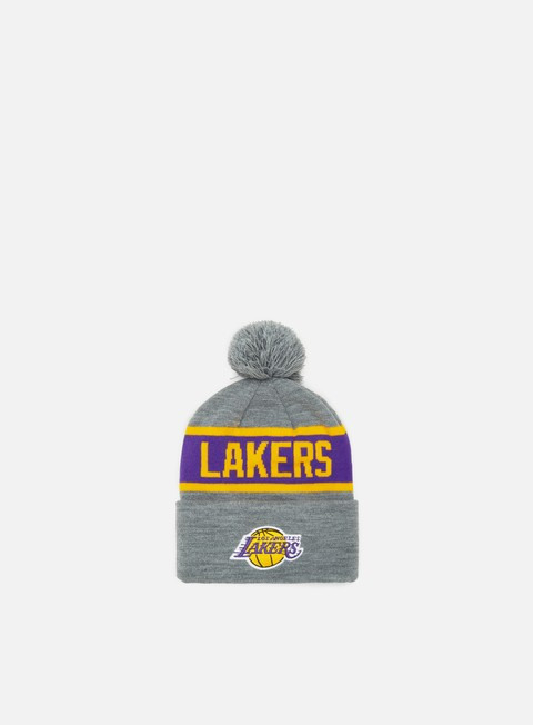 Outlet e Saldi Cuffie Mitchell & Ness Team Tone Knit Beanie LA Lakers